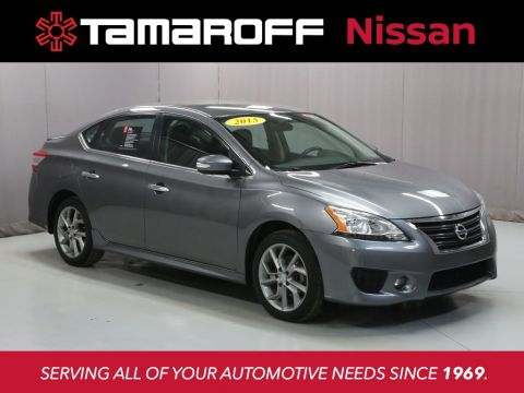 Certified Pre-Owned 2015 Nissan Sentra SR