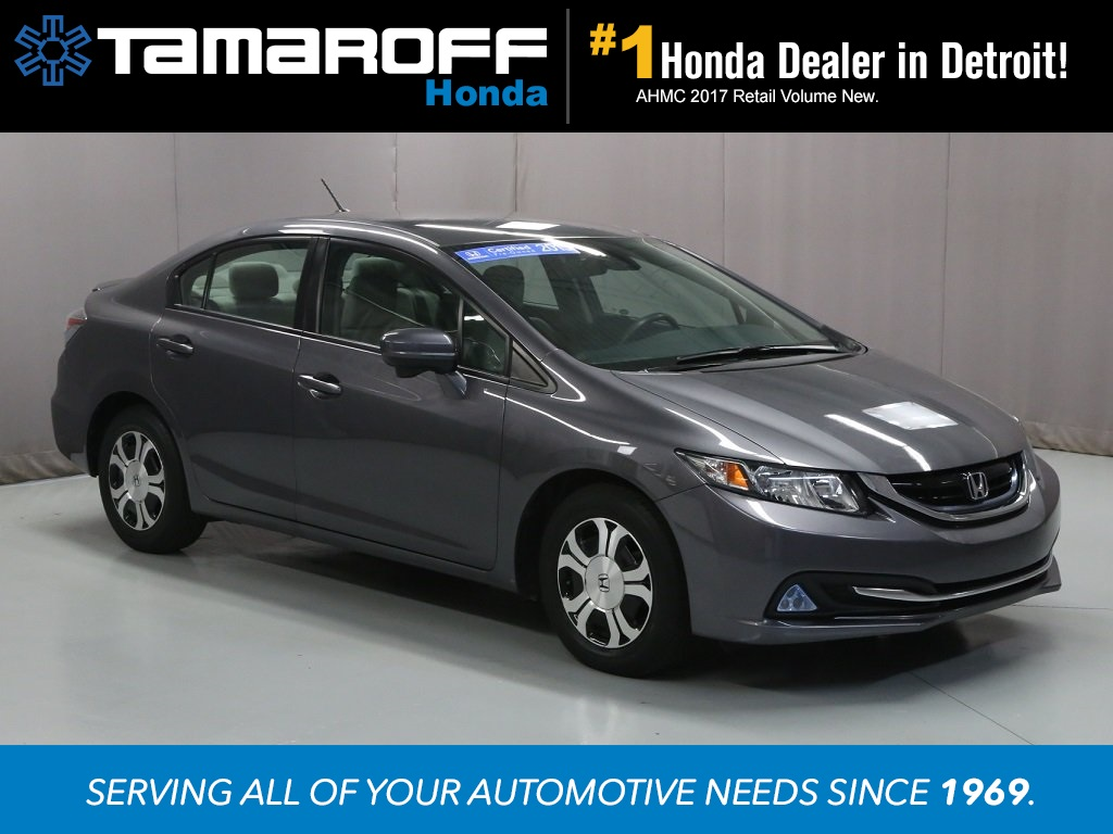 Certified Pre Owned 2015 Honda Civic Hybrid