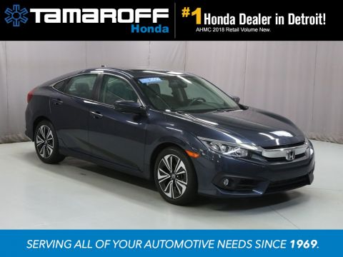 Certified Pre-Owned 2016 Honda Civic EX-L w/ Navigation